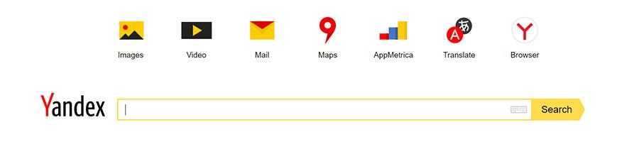 Il motore di ricerca russo Yandex